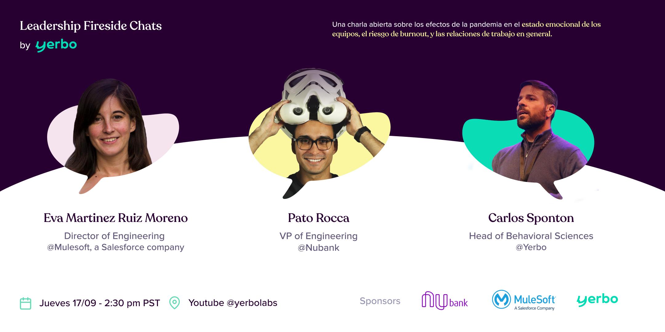 Liderazgo durante la pandemia (Meetup held in Spanish)